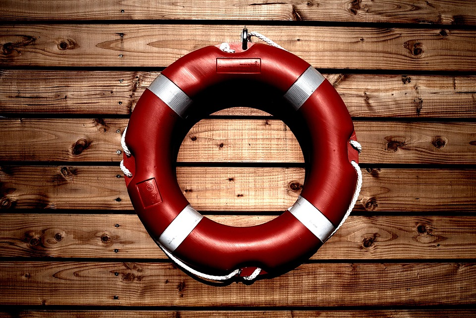 Water Help Lifesaver Rescue Life Buoy Ring Pool Safety