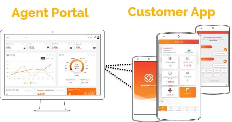 Agent portal and app